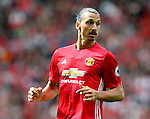 Zlatan Ibrahimovic of Manchester United during the Premier League match at Old Trafford Stadium, Manchester. Picture date: September 10th, 2016. Pic Simon Bellis/Sportimage