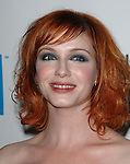 Christina Hendricks at The 22nd Annual American Cinematheque Award held at the Beverly Hilton Hotel Beverly Hills, Ca. October 12, 2007. Fitzroy Barrett