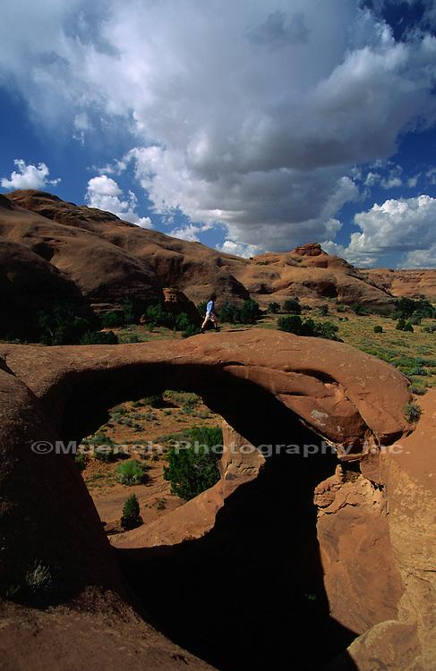 Mystery Valley Monument Valley Navajo Tribal Park  ARIZONA