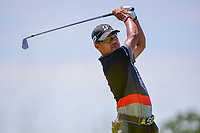 Yusaku Miyazato (JAP) watches his tee shot on 13 during Friday's round 2 of the 117th U.S. Open, at Erin Hills, Erin, Wisconsin. 6/16/2017.<br /> Picture: Golffile   Ken Murray<br /> <br /> <br /> All photo usage must carry mandatory copyright credit (&copy; Golffile   Ken Murray)
