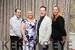 l-r  Jason Brick, Michelle Reidy, Bryan Carr and Ann O'Shea at The Rose Hotel (Fels Point) Launch of refurbished hotel on Friday