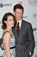 Claire Foy &amp; Matt Smith at the BAFTA Los Angeles BBC America TV Tea Party 2017 at The Beverly Hilton Hotel, Beverly Hills, USA 16 September  2017<br /> Picture: Paul Smith/Featureflash/SilverHub 0208 004 5359 sales@silverhubmedia.com