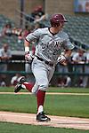 May 21, 2015; Stockton, CA, USA; Loyola Marymount Lions infielder Jamey Smart (20) during the WCC Baseball Championship against the San Diego Toreros at Banner Island Ballpark.
