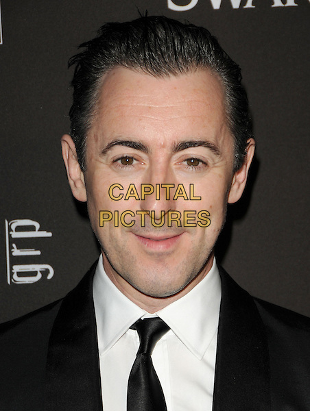 ALAN CUMMING.The 12th Annual Costume Designers Guild Awards held at The Beverly Hilton Hotel in The Beverly Hills, California, USA. .February 25th, 2010 .headshot portrait black white .CAP/RKE/DVS.©DVS/RockinExposures/Capital Pictures.