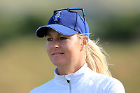 Anna Nordqvist Team Europe on the 9th during Day 1 Fourball at the Solheim Cup 2019, Gleneagles Golf CLub, Auchterarder, Perthshire, Scotland. 13/09/2019.<br /> Picture Thos Caffrey / Golffile.ie<br /> <br /> All photo usage must carry mandatory copyright credit (© Golffile | Thos Caffrey)