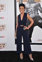 Actress Emmanuelle Chriqui at the world premiere of &quot;Magic Mike XXL&quot; at the TCL Chinese Theatre, Hollywood.<br /> June 25, 2015  Los Angeles, CA<br /> Picture: Paul Smith / Featureflash