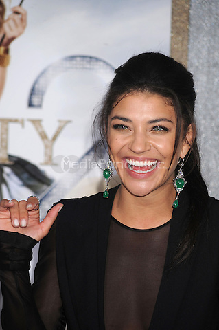 Jessica Szohr at the film premiere of 'Sex and the City 2' at Radio City Music Hall in New York City. May 24, 2010.Credit: Dennis Van Tine/MediaPunch