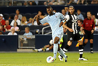 Birahim Diop Sporting KC in action... Sporting Kansas City and Newcastle United played to a scoreless tie in an international friendly at LIVESTRONG Sporting Park, Kansas City, Kansas.
