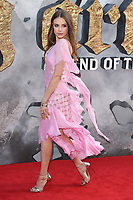 Xenia Tchoumi at the European premiere for &quot;King Arthur: Legend of the Sword&quot; at the Cineworld Empire in London, UK. <br /> 10 May  2017<br /> Picture: Steve Vas/Featureflash/SilverHub 0208 004 5359 sales@silverhubmedia.com