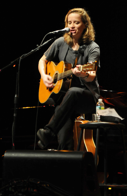 Susan Werner, performing at the 3rd Annual Patchogue Folk Music Festival, at the Patchogue Theater for the Performing Arts (71 Main Street) in Patchogue, NY on Saturday, April 9, 2011. Photo by Jim Peppler. Copyright Jim Peppler/2011.