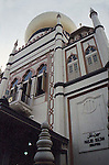 SINGAPORE'S ARAB QUARTER'S SULTAN MOSQUEThe mosque is considered one of the most important mosques in Singapore. The prayer hall and domes highlight the mosque's star features.