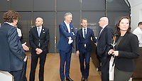 20161216 - AMSTERDAM , NETHERLANDS : reception prior to the event pictured during the UEFA EURO 2020 Host City Logo Launch event at the Hermitage Amsterdam Venue in Amsterdam , The Netherlands , Friday 16 th December 2016 . PHOTO UEFA.COM | SPORTPIX.BE | DAVID CATRY