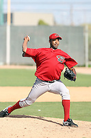 Jose Marte, Arizona Diamondbacks 2010 minor league spring training..Photo by:  Bill Mitchell/Four Seam Images.