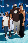 "CEDRIC THE ENTERTAINER (Cedric Antonio Kyles) AND FAMILY. Hollywood Premiere of Disney Channel's Original Movie, ""Phineas and Ferb: Across the 2nd Dimension,"" at the El Capitan Theatre. Hollywood, CA USA. August 3, 2011. ©CelphImage"