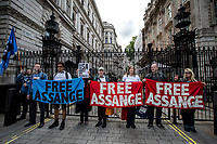 "19.05.2017 - ""Free Julian Assange"" Demo After Sweden Drops Rape Investigation"