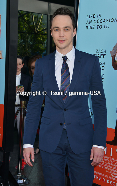 Jim Parsons  at Wish I Was Here Premiere at the DGA Theatre In Los Angeles.