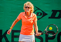 Hilversum, The Netherlands,  August 23, 2019,  Tulip Tennis Center, NSK, Karien Theewes (NED) <br /> Photo: Tennisimages/Henk Koster