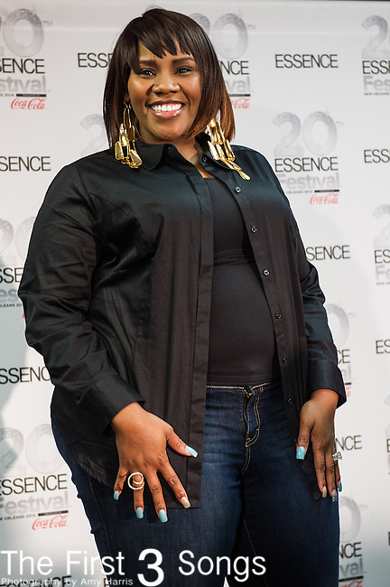 Kelly Price at the 2014 Essence Festival at the Mercedes-Benz Superdome in New Orleans, Louisiana.