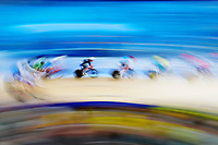 Tom Sexton of New Zealand competes in the Men's 40km Points Race Qualifying Heat. Gold Coast 2018 Commonwealth Games, Track Cycling, Anna Meares Velodrome, Brisbane, Australia. 8 April 2018 © Copyright Photo: Anthony Au-Yeung / www.photosport.nz /SWpix.com