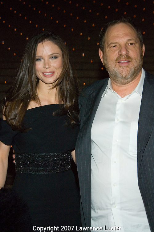 Georgina Chapman and Harvey Fierstein