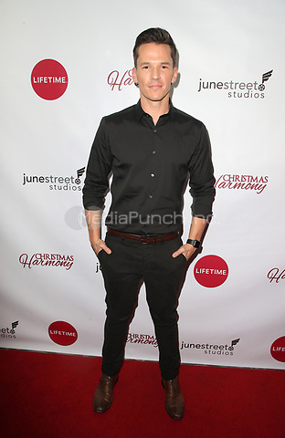 "LOS ANGELES, CA - NOVEMBER 7: Mark Hapka, at Premiere of Lifetime's ""Christmas Harmony"" at Harmony Gold Theatre in Los Angeles, California on November 7, 2018. Credit: Faye Sadou/MediaPunch"