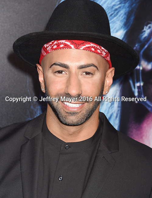 HOLLYWOOD, CA - OCTOBER 17:  YouTube personality Yousef Erakat attends the premiere of Lionsgate's 'Boo! A Madea Halloween' at the ArcLight Cinerama Dome on October 17, 2016 in Hollywood, California.