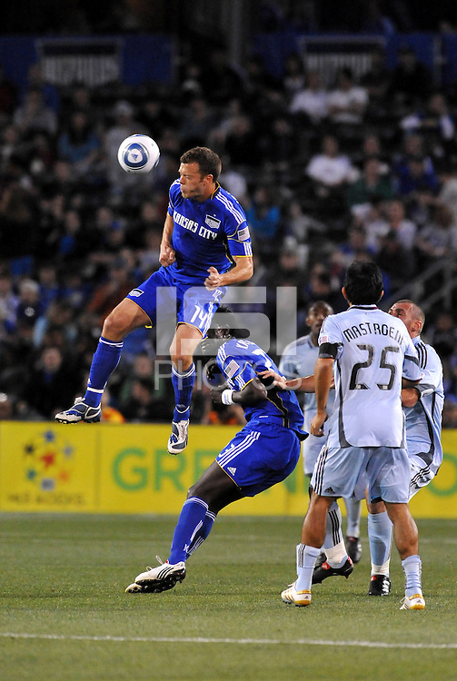 Jack Jewsbury...Kansas City Wizards defeated Colorado Rapids 1-0 at Community America Ballpark, Kansas City, Kansas.