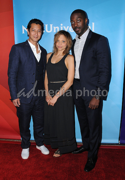 03 August 2016 - Beverly Hills, California. Will Yun Lee, Lizzie  Brochere, David Ajala. 2016 NBCUniversal Summer Press Tour Day 2 held at the Beverly Hilton Hotel. Photo Credit: Birdie Thompson/AdMedia