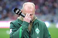 FUSSBALL   1. BUNDESLIGA  SAISON 2011/2012   15. Spieltag FC Bayern Muenchen - SV Werder Bremen        03.12.2011 Trainer Thomas Schaaf (SV Werder Bremen)