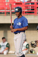 West Michigan Whitecaps Jeramy Laster during a Midwest League game at Memorial Stadium on July 14, 2006 in Fort Wayne, Indiana.  (Mike Janes/Four Seam Images)