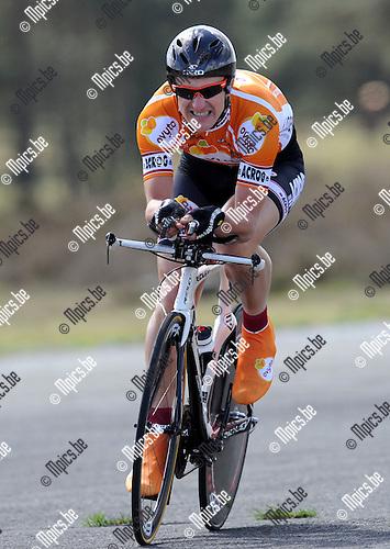 2011-04-12 / Wielrennen / seizoen 2011 / PK Tijdrijden / Kurt Geysen..Foto: Mpics