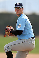 January 16, 2010:  Brett Winger (Windermere, FL) of the Baseball Factory Coastal Team during the 2010 Under Armour Pre-Season All-America Tournament at Kino Sports Complex in Tucson, AZ.  Photo By Mike Janes/Four Seam Images