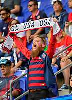 Harrison, NJ - Friday Sept. 01, 2017: USA supporters during a 2017 FIFA World Cup Qualifier between the United States (USA) and Costa Rica (CRC) at Red Bull Arena.