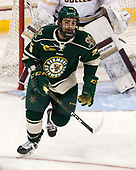 Matt Alvaro (UVM - 25) - The Boston College Eagles defeated the University of Vermont Catamounts 7-4 on Saturday, March 11, 2017, at Kelley Rink to sweep their Hockey East quarterfinal series.The Boston College Eagles defeated the University of Vermont Catamounts 7-4 on Saturday, March 11, 2017, at Kelley Rink to sweep their Hockey East quarterfinal series.