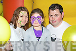 Having fun at the kids activity centre in aid of Kerry Hospice in the Killarney Outlet centre on Sunday was l-r: Mary McCarthy, Teagan O'Sullivan and Tony Whelan