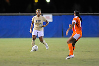 21 August 2011:  FIU's Scarlett Montoya (10) moves the ball up the field in the second half as the University of Florida Gators defeated the FIU Golden Panthers, 2-0, at University Park Stadium in Miami, Florida.