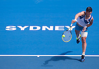 SVETLANA KUZNETSOVA..Tennis - Apia Sydney International -  Sydney 2013 -  Olympic Park - Sydney - NSW - Australia.Tuesday 8th January  2013. .© AMN Images, 30, Cleveland Street, London, W1T 4JD.Tel - +44 20 7907 6387.mfrey@advantagemedianet.com.www.amnimages.photoshelter.com.www.advantagemedianet.com.www.tennishead.net