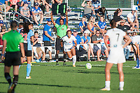 Kansas City, MO - Sunday September 11, 2016: Frances Silva during a regular season National Women's Soccer League (NWSL) match between FC Kansas City and the Chicago Red Stars at Swope Soccer Village.