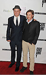 "BEVERLY HILLS, CA - NOVEMBER 27: Mike O'Malley and Sam Trammell arrive at the Los Angeles premiere of ""Certainty"" at the Lamelle Music Hall on November 27, 2012 in Beverly Hills, California."