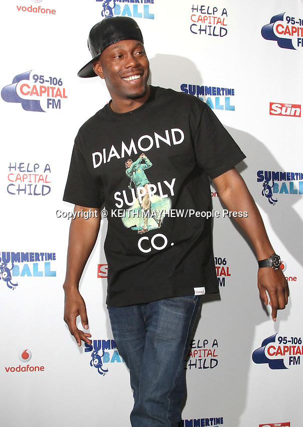 London - Capital FM Summertime Ball at Wembley Stadium, London - June 9th 2012..Photo by Keith Mayhew