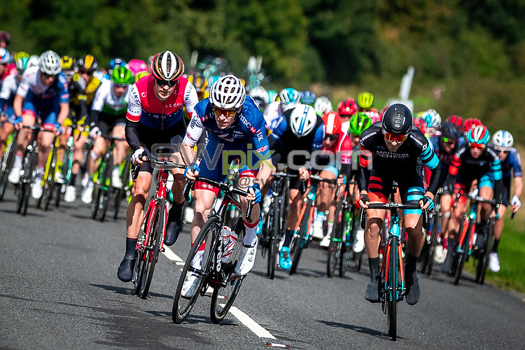 Picture by Alex Whitehead/SWpix.com - 07/09/2018 - Cycling - OVO Energy Tour of Britain - Stage 6: Barrow-in-Furness to Whinlatter - Matt Bostock of Great Britain.