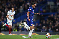 Pedro of Chelsea races upfield during Chelsea vs MOL Vidi, UEFA Europa League Football at Stamford Bridge on 4th October 2018