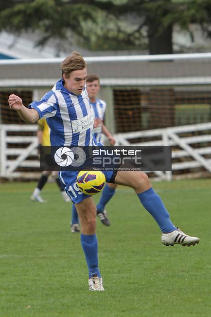 Nelson Marlborough Falcons vs Canterbury, ASB Youth League Football, 27th September 2014, Ricky Wilson/Shuttersport