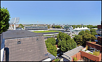 Flat with stunning views over Lords.