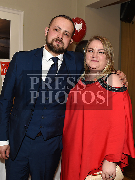 Paul and Roberta Kniska at the Odie Wants to Walk Valentine Ball in the Glenside hotel. Photo:Colin Bell/pressphotos.ie