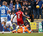 22.09.2019 St Johnstone v Rangers: Allan McGregor saves from Michael O'Halloran