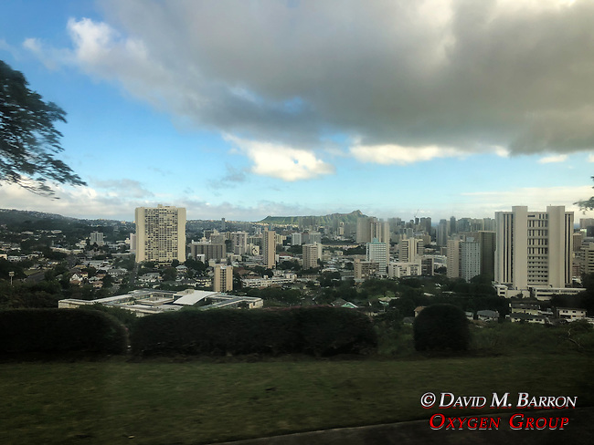 View Of Honolulu From Punchbowl