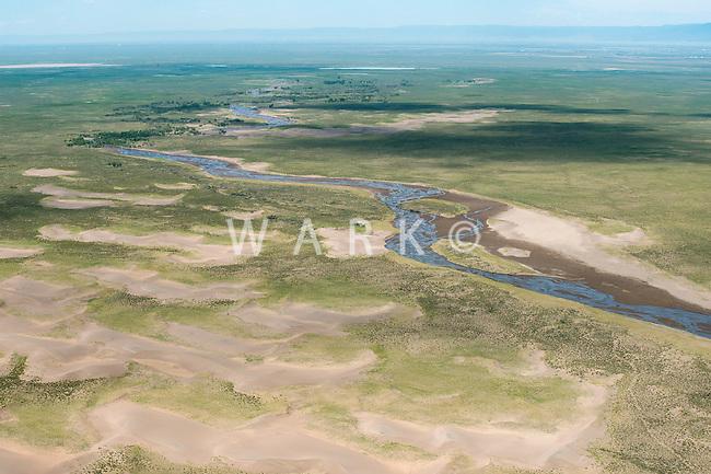 Sand Creek, northeast of Great Sand Dunes National Park. June 2014. 85499