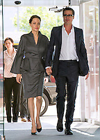 Angelia Jolie & Brad Pitt attend End Sexual Violence In Conflict Summit - London
