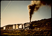 RGS #74 with northbound RMRRC excursion near Noel on its way home to Ridgway.<br /> RGS  Noel, CO  Taken by Pfeiffer, Jack A. - 9/2/1951
